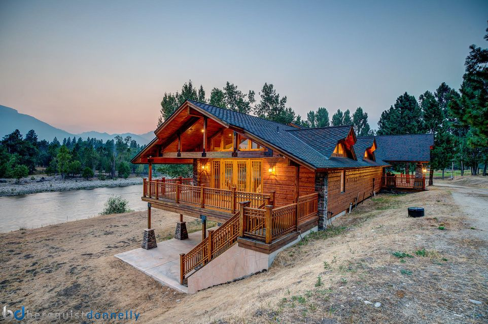Single Family Home for Sale at 1175 Sleeping Child Road Hamilton, Montana 59840 United States