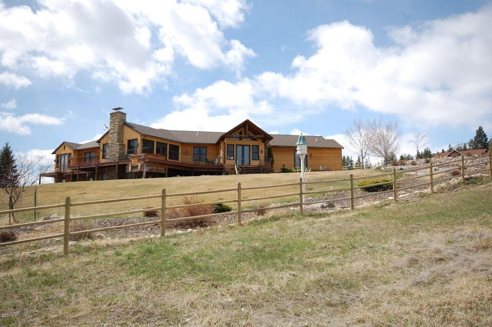 Single Family Home for Sale at 1551 Red Crow Road 1551 Red Crow Road Victor, Montana 59875 United States