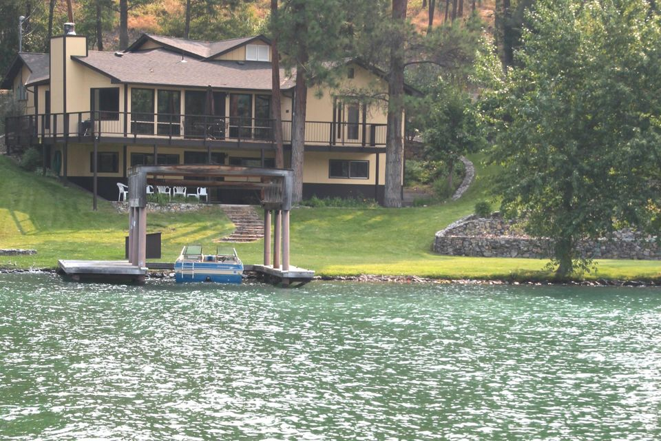 Single Family Home for Sale at 335 Conrad Point Road Lakeside, Montana 59922 United States