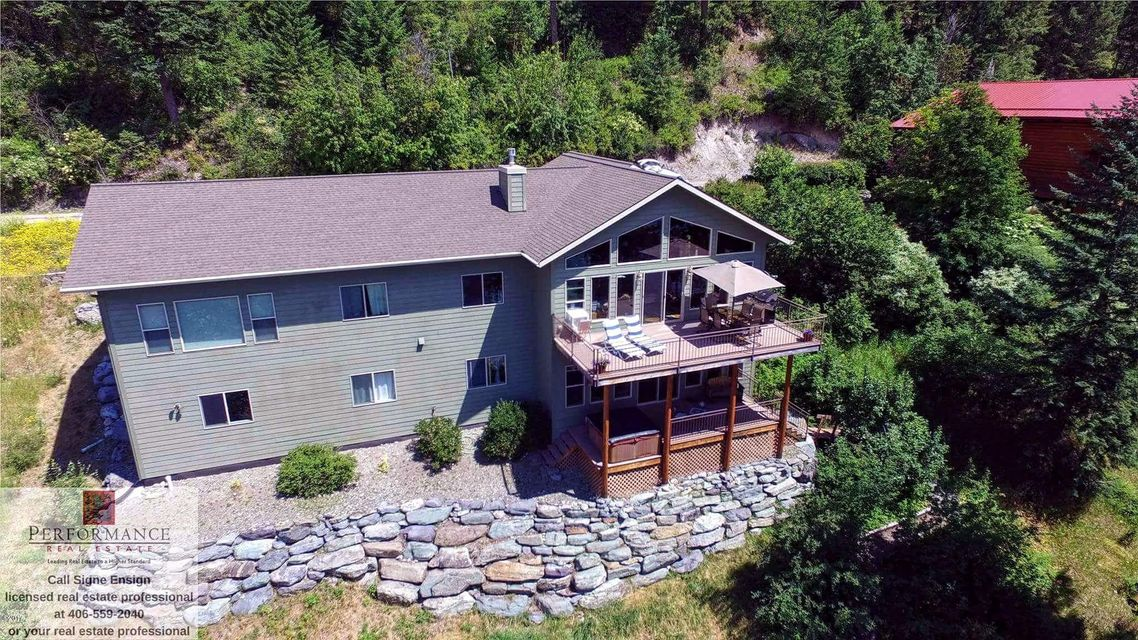 Single Family Home for Sale at 15141 Hunger Creek Lane Bigfork, Montana 59911 United States