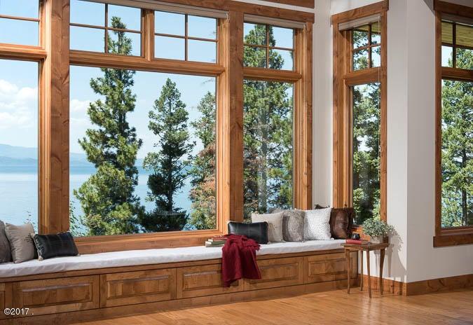 Great Room Window View Bench