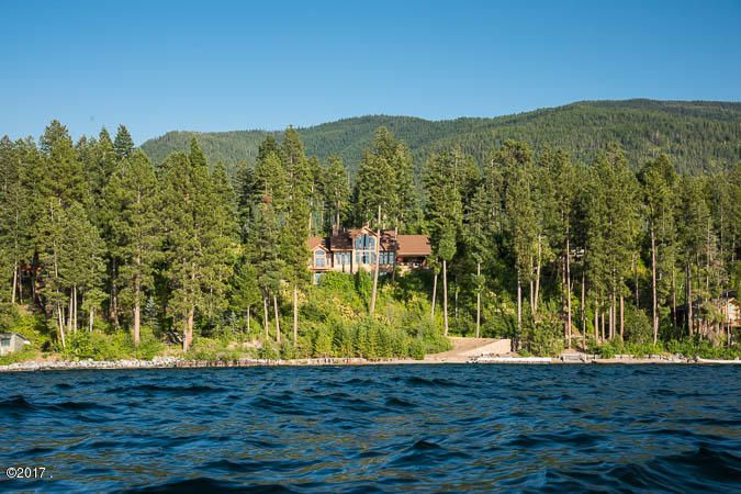 Residence from Flathead Lake #2