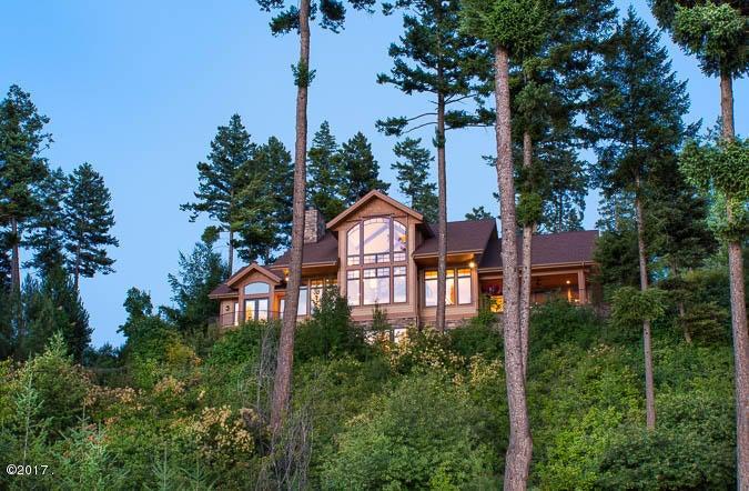 Residence from Flathead Lake
