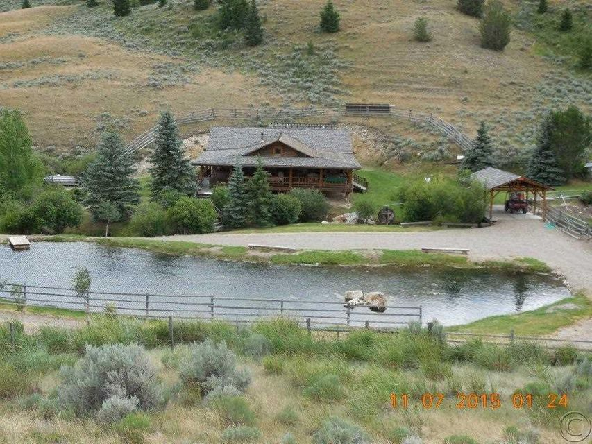 Single Family Home for Sale at 2644 West Fork Little Sheep Creek Road Lima, Montana 59739 United States