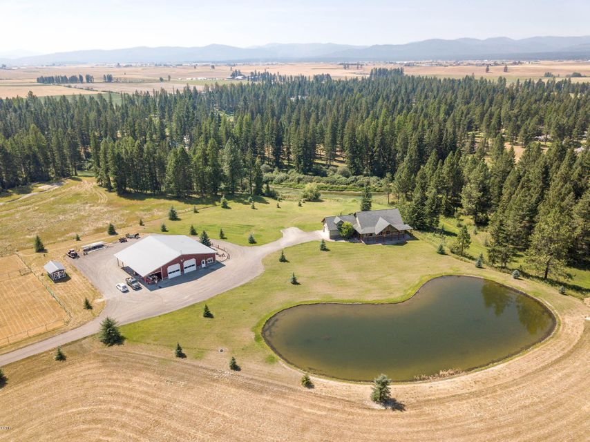 Single Family Home for Sale at 410 Spring Prairie Road 410 Spring Prairie Road Whitefish, Montana 59937 United States