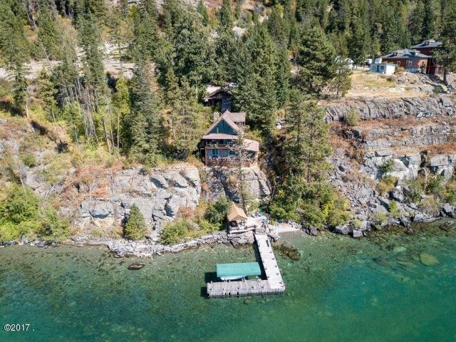Single Family Home for Sale at 17271 Cliffhanger Lane Bigfork, Montana 59911 United States