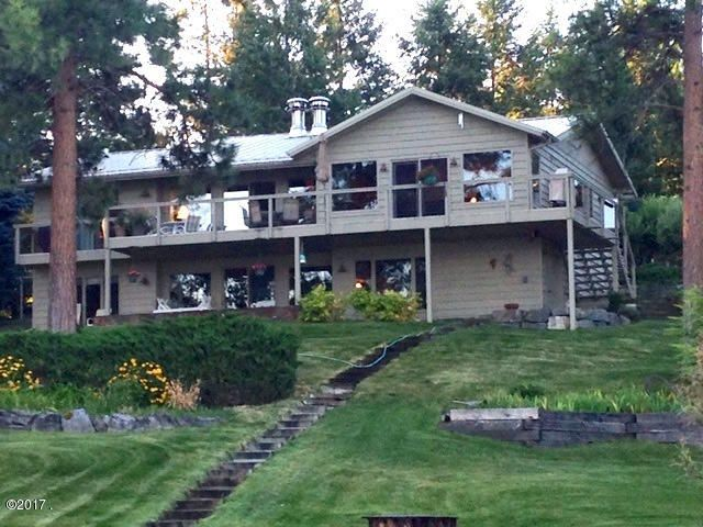 Single Family Home for Sale at 39004 Highway 93 Big Arm, Montana 59910 United States