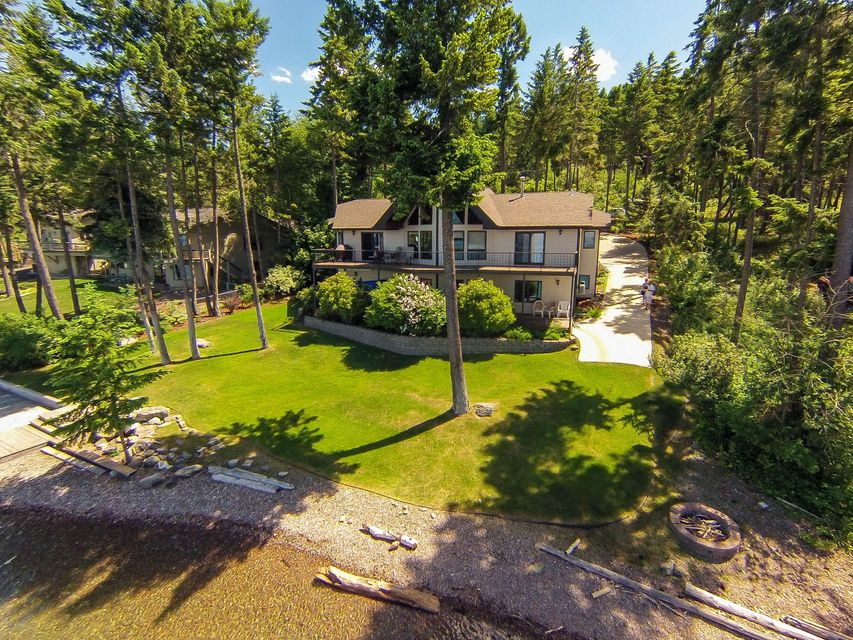 Villa per Vendita alle ore 563 Conrad Point Road 563 Conrad Point Road Lakeside, Montana,59922 Stati Uniti