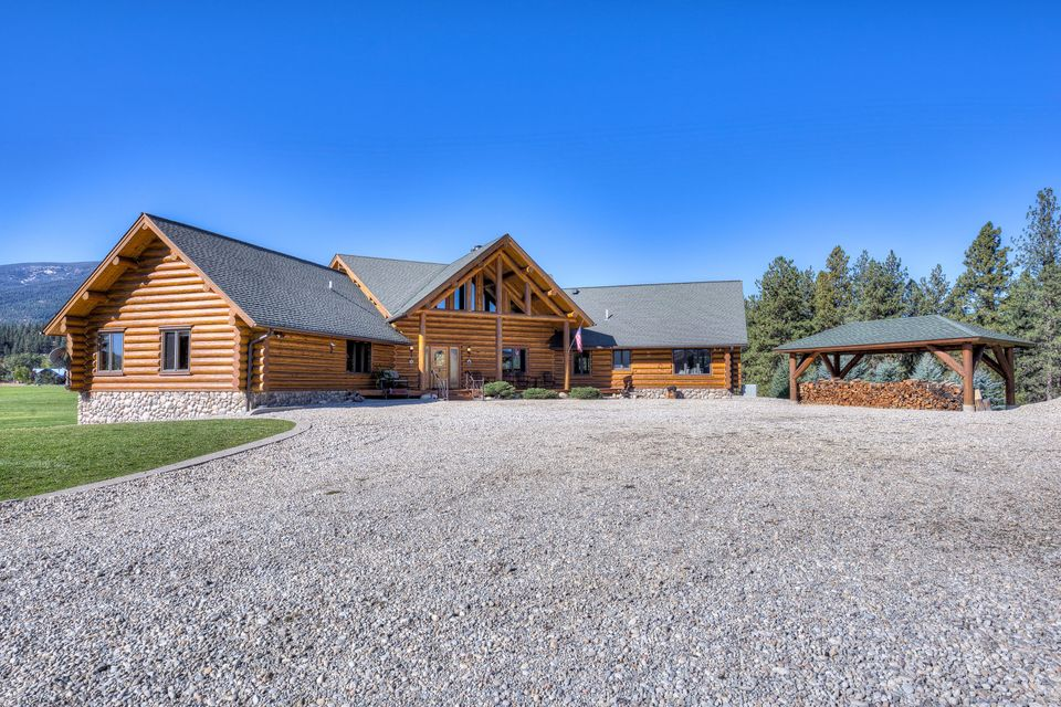 Home for sale at 274 whitebird trail in darby montana for for Big white real estate foreclosure