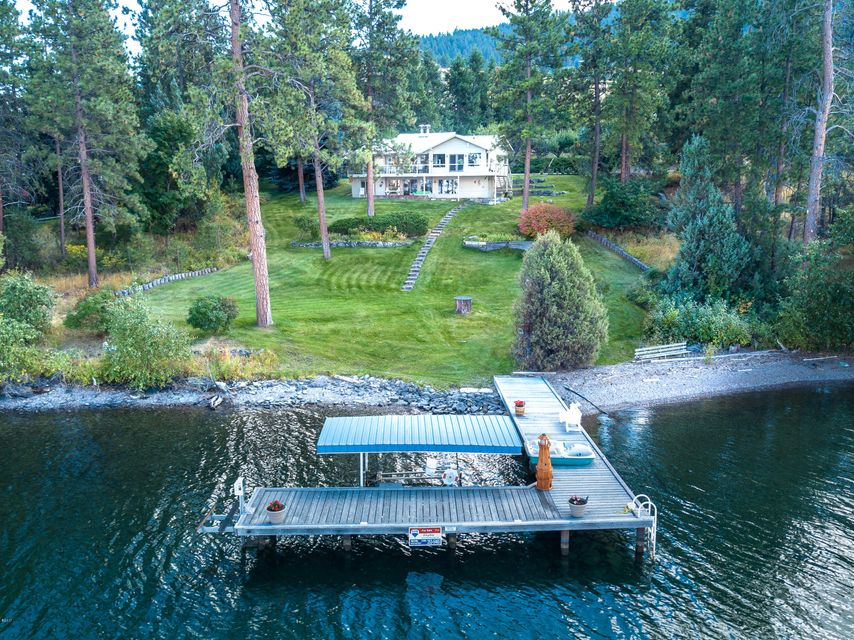Single Family Home for Sale at 39004 Highway 93 39004 Highway 93 Big Arm, Montana 59910 United States