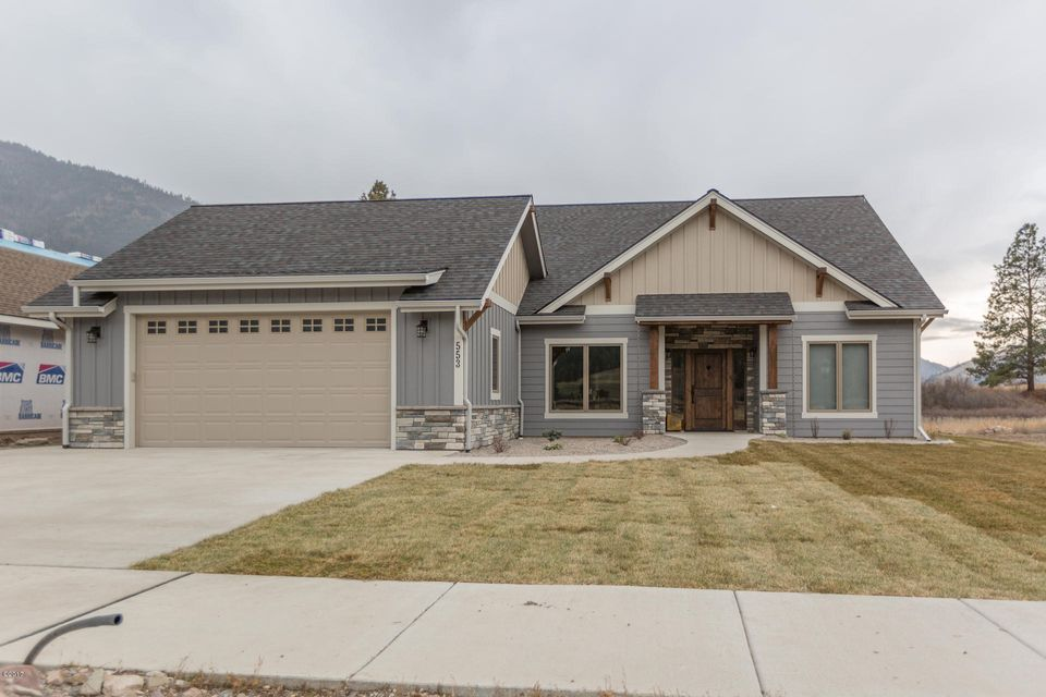 Single Family Home for Sale at 537 Cahill Rise 537 Cahill Rise Missoula, Montana 59802 United States