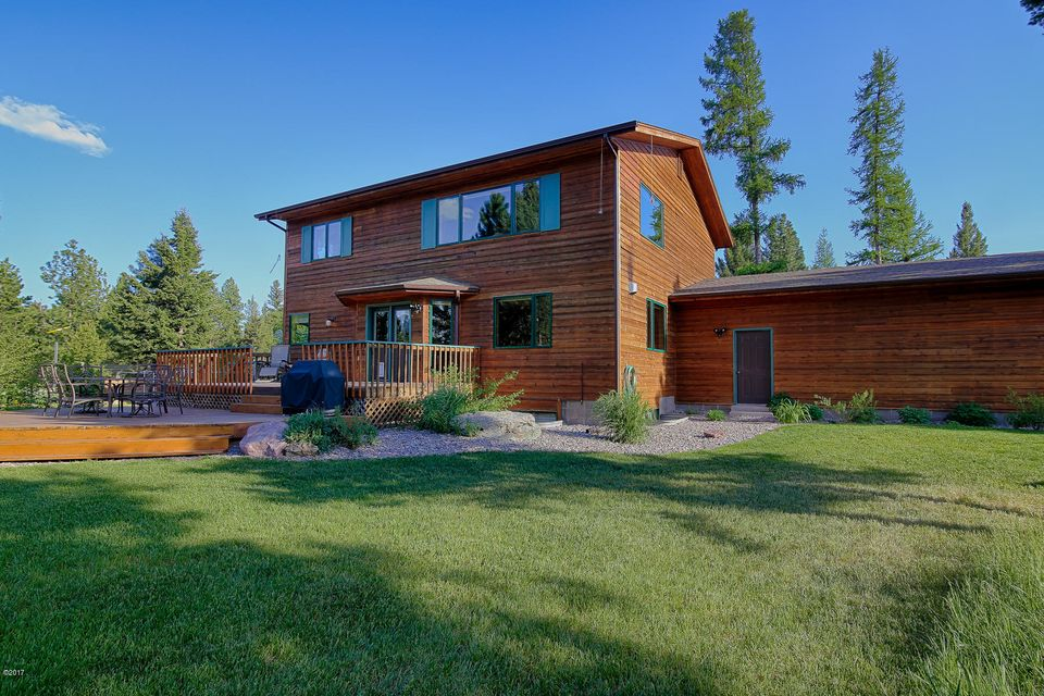 Single Family Home for Sale at 691 Airport Road 691 Airport Road Seeley Lake, Montana 59868 United States