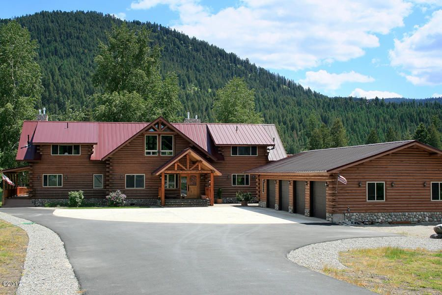 Single Family Home for Sale at 196 Edgewater Drive 196 Edgewater Drive Libby, Montana 59923 United States