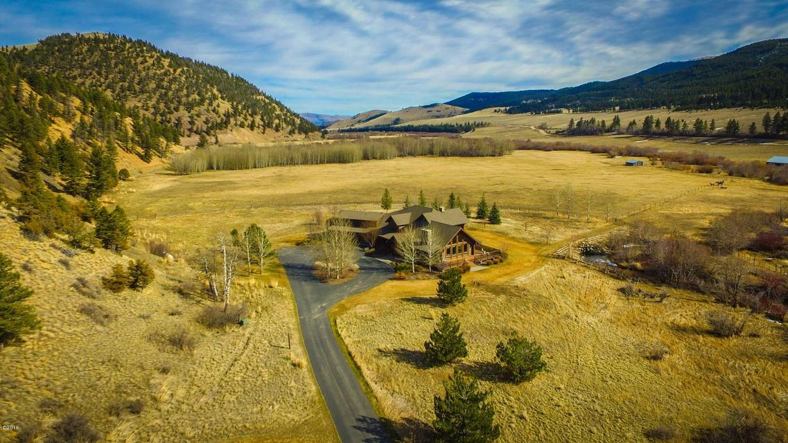 Single Family Home for Sale at 10000 Little Prickly Pear Road 10000 Little Prickly Pear Road Canyon Creek, Montana 59633 United States