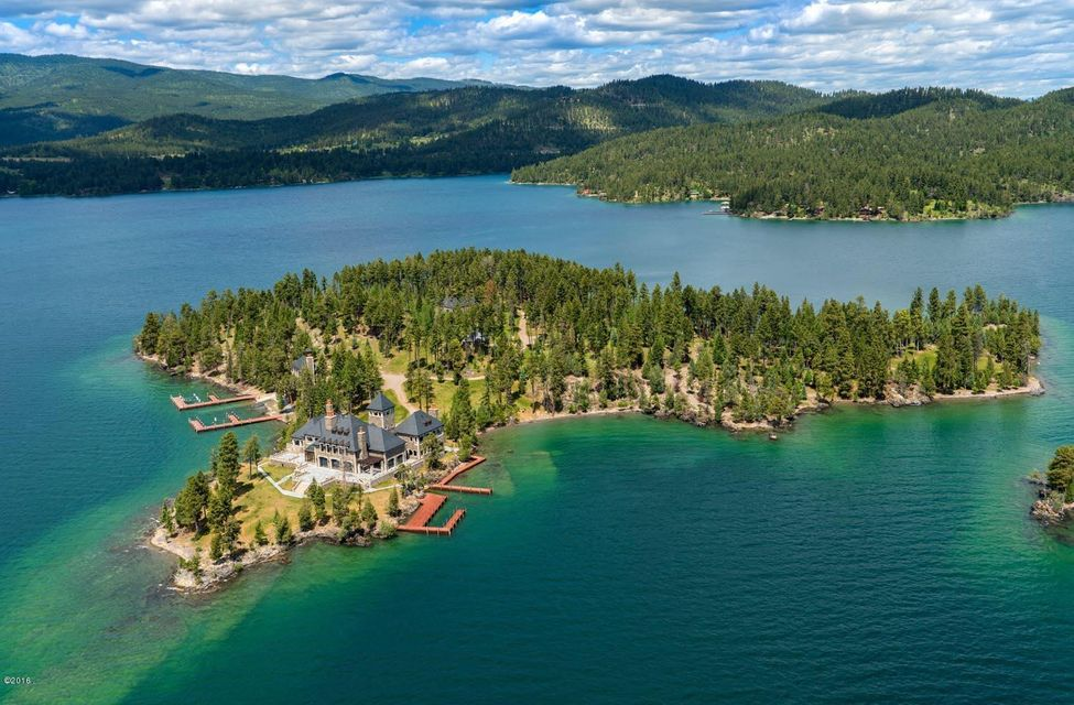Single Family Home for Sale at Montana's Shelter Island Montana's Shelter Island Rollins, Montana 59931 United States
