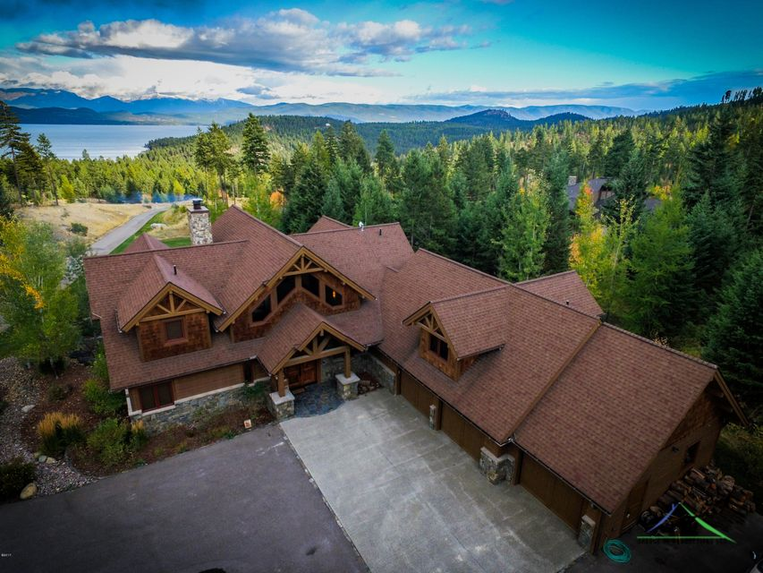 Single Family Home for Sale at 183 Eagles Crest 183 Eagles Crest Lakeside, Montana 59922 United States