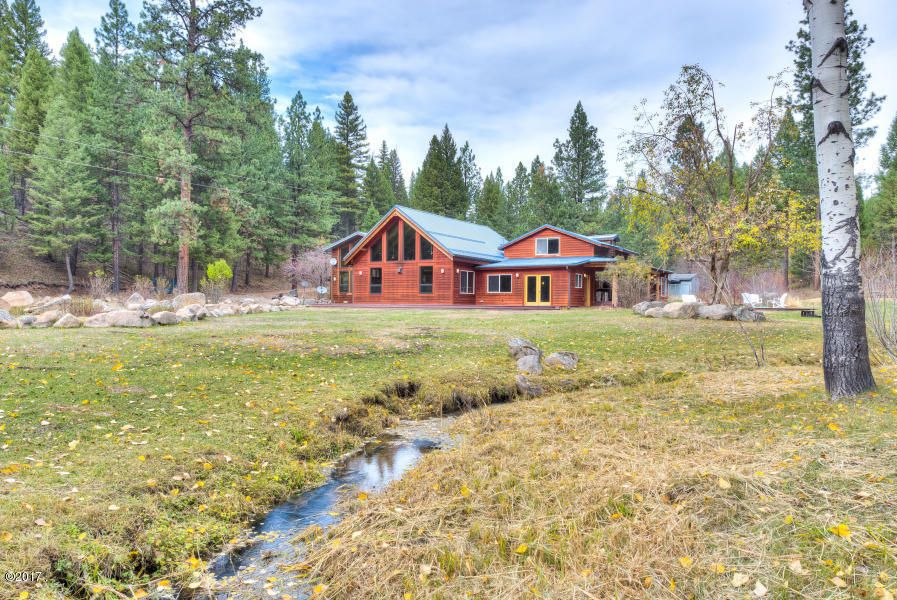 Single Family Home for Sale at 171 Beavertail Creek Road 171 Beavertail Creek Road Darby, Montana 59829 United States