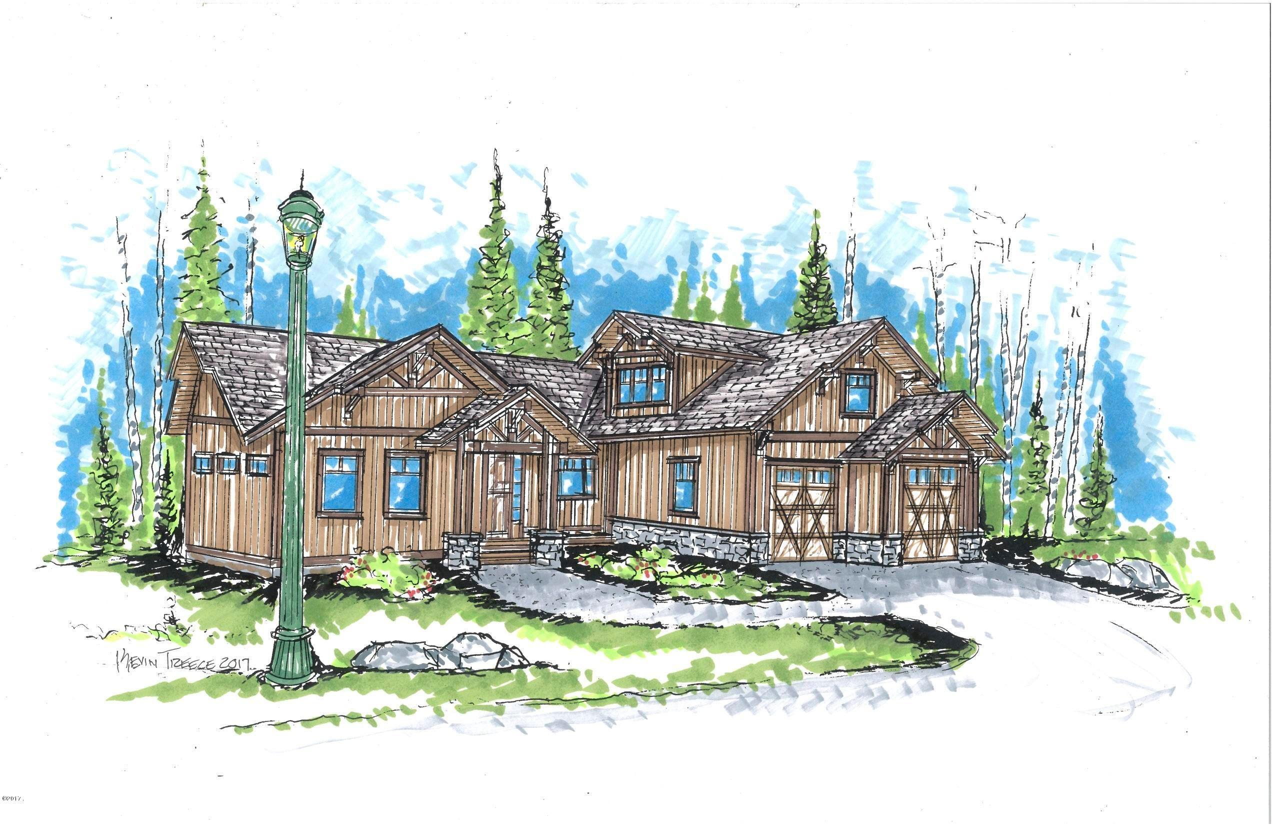 独户住宅 为 销售 在 634 Nature Trail 634 Nature Trail 怀特菲什, 蒙大拿州,59937 美国