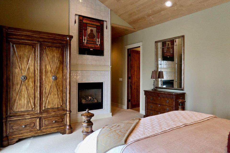 11. Master Bedroom Fireplace