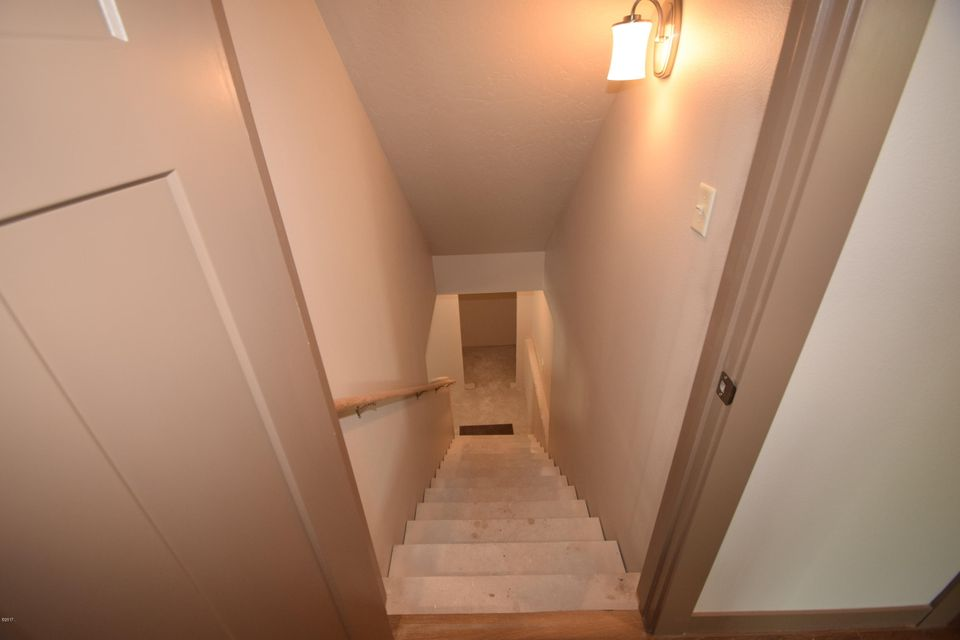 Stairs by Kitchen