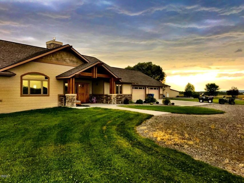 Single Family Home for Sale at 5040 Burnt Road 5040 Burnt Road Belgrade, Montana 59714 United States