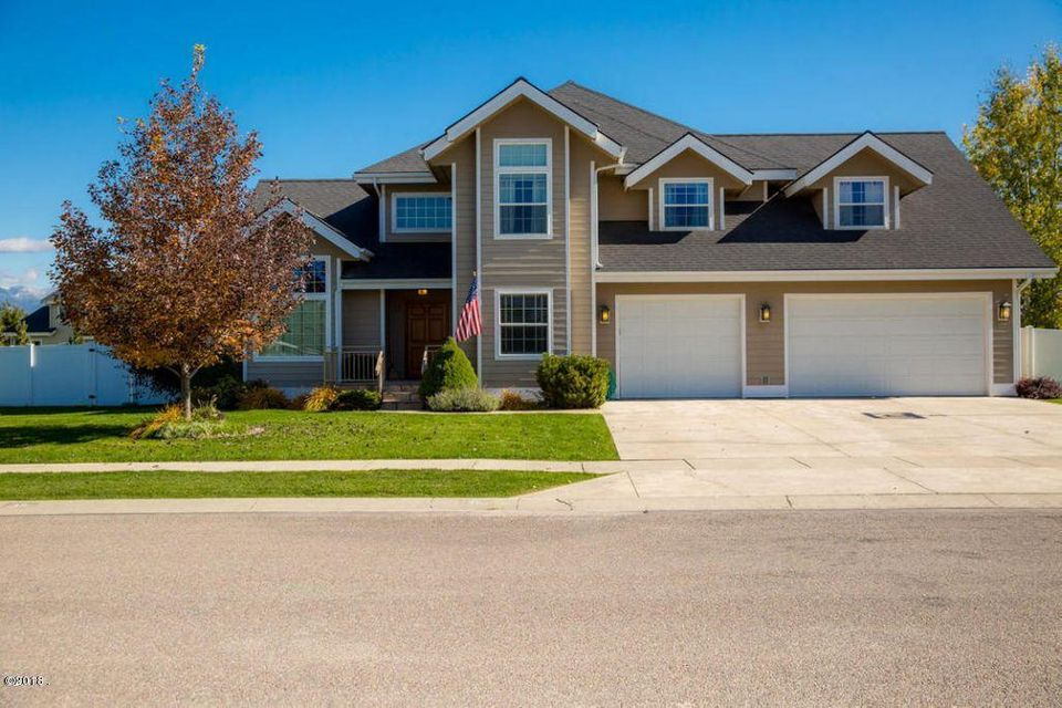 Single Family Home for Sale at 38 Glacier Circle 38 Glacier Circle Kalispell, Montana 59901 United States