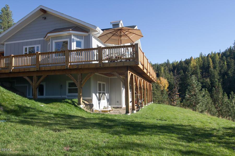 Single Family Home for Sale at 22933 Wapiti Road 22933 Wapiti Road Huson, Montana 59846 United States