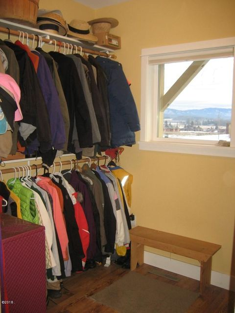 Extra Coat and Shoe Room