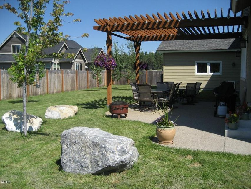 Back Yard with Mature Landscaping