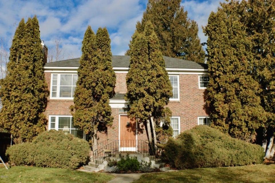 Single Family Home for Sale at 620 Evans Avenue 620 Evans Avenue Missoula, Montana 59801 United States