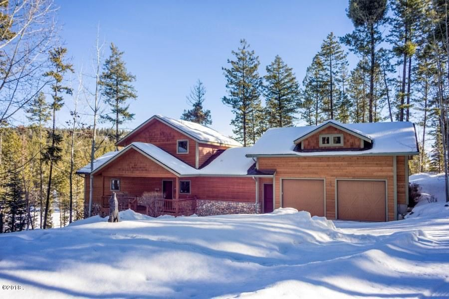 Single Family Home for Sale at 327 Hughes Bay Road 327 Hughes Bay Road Lakeside, Montana 59922 United States