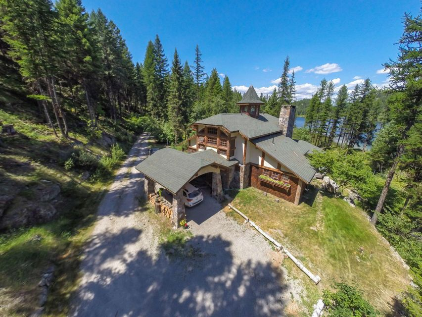 Single Family Home for Sale at 660 Bootjack Lake Road 660 Bootjack Lake Road Whitefish, Montana 59937 United States