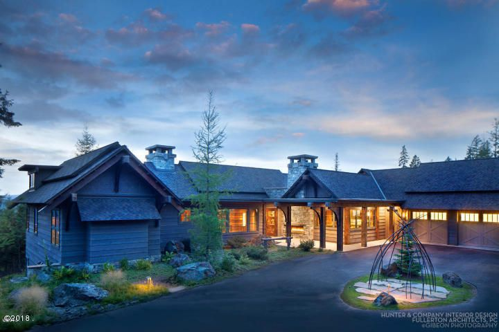 独户住宅 为 销售 在 130 Huckleberry Lane 130 Huckleberry Lane 怀特菲什, 蒙大拿州,59937 美国