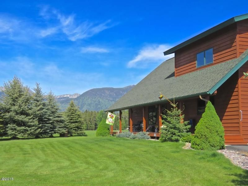 Single Family Home for Sale at 358 North Ferndale Drive 358 North Ferndale Drive Bigfork, Montana 59911 United States