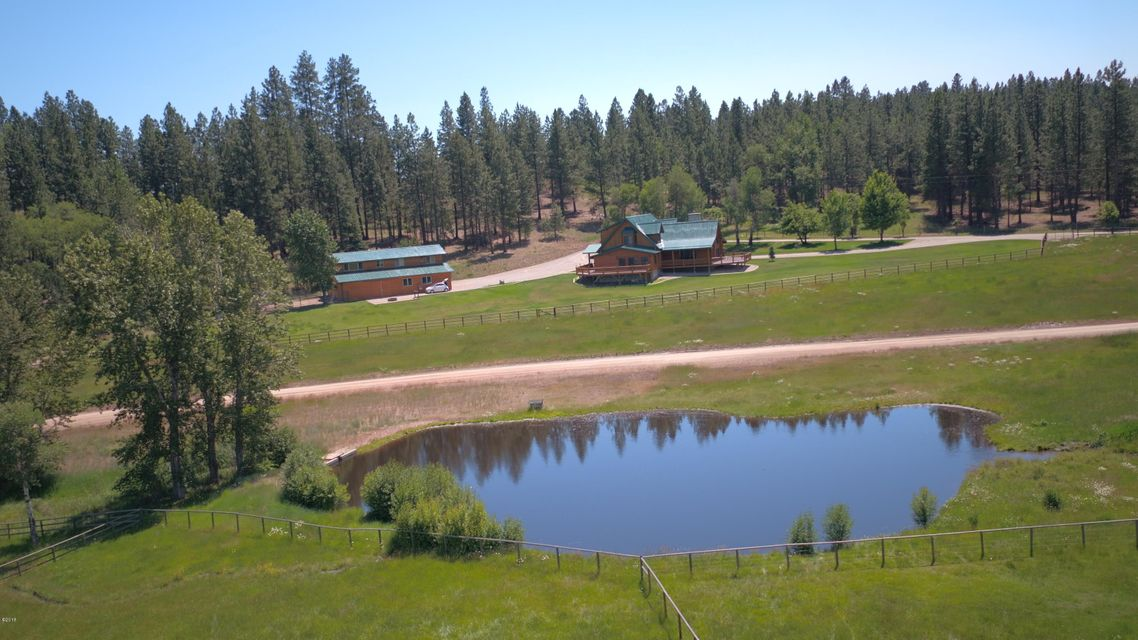 Single Family Home for Sale at 2250 Red Crow Road 2250 Red Crow Road Victor, Montana 59875 United States