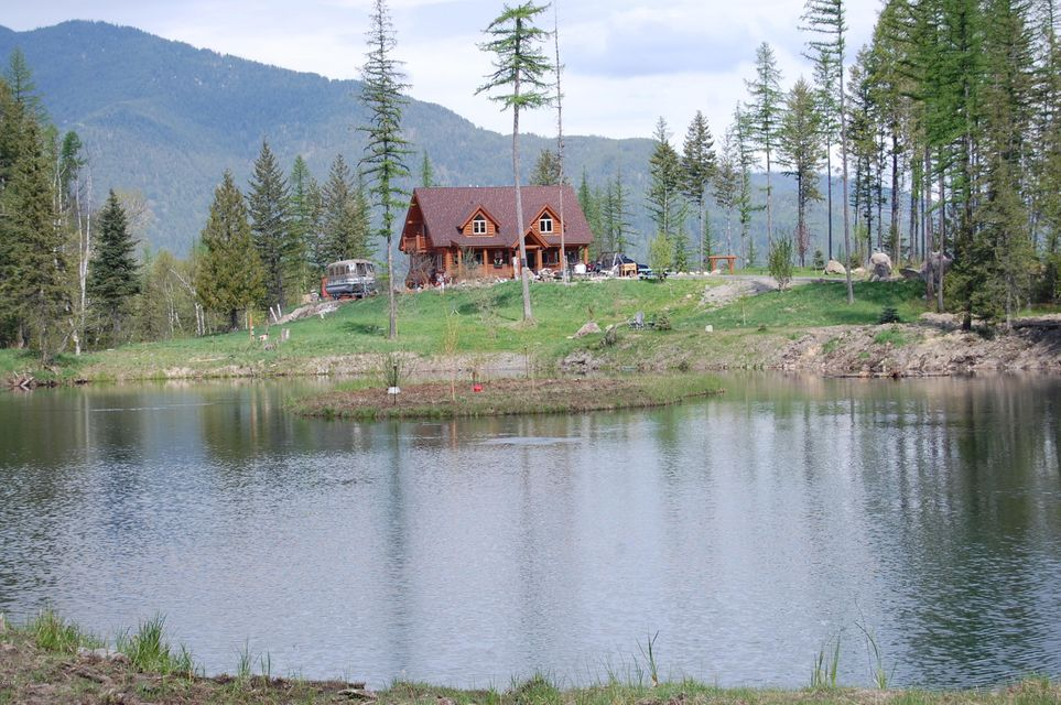 Single Family Home for Sale at 1445 Glacier Hills 1445 Glacier Hills Martin City, Montana 59926 United States