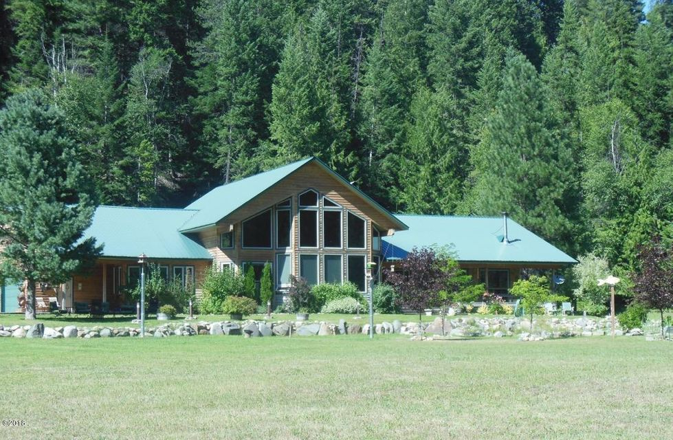 Single Family Home for Sale at Yaak River Road Yaak River Road Troy, Montana 59935 United States