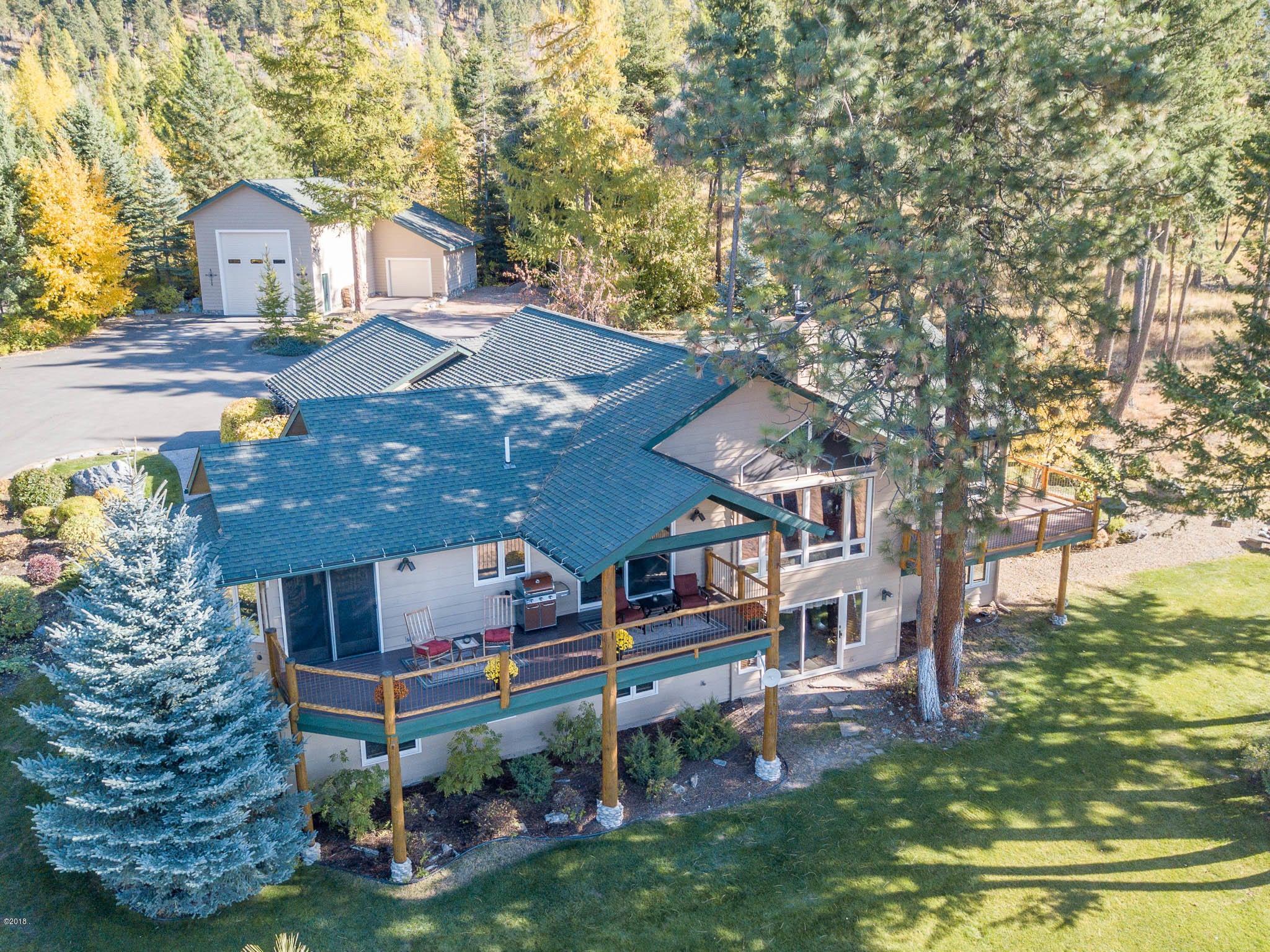 Single Family Home for Sale at 16713 Elkridge Road 16713 Elkridge Road Bigfork, Montana 59911 United States