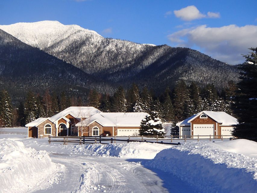 Single Family Home for Sale at 41 Whitetail Meadows Road 41 Whitetail Meadows Road Kalispell, Montana 59901 United States