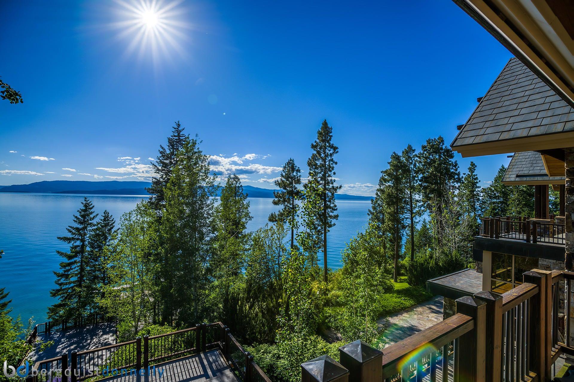 Μονοκατοικία για την Πώληση στο Stunning Lakeside Estate Flathead Lake Bigfork, Μοντανα,59911 Ηνωμενεσ Πολιτειεσ