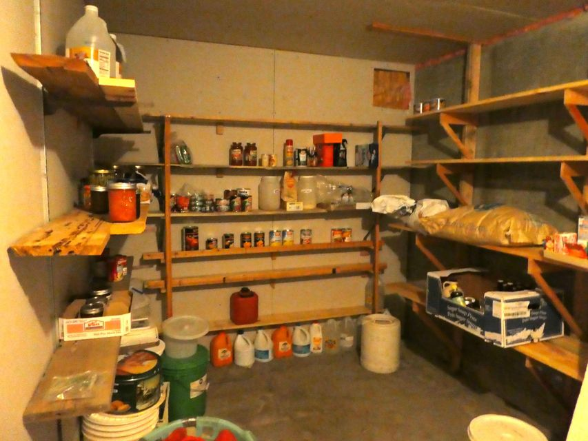 Cold Room in basement