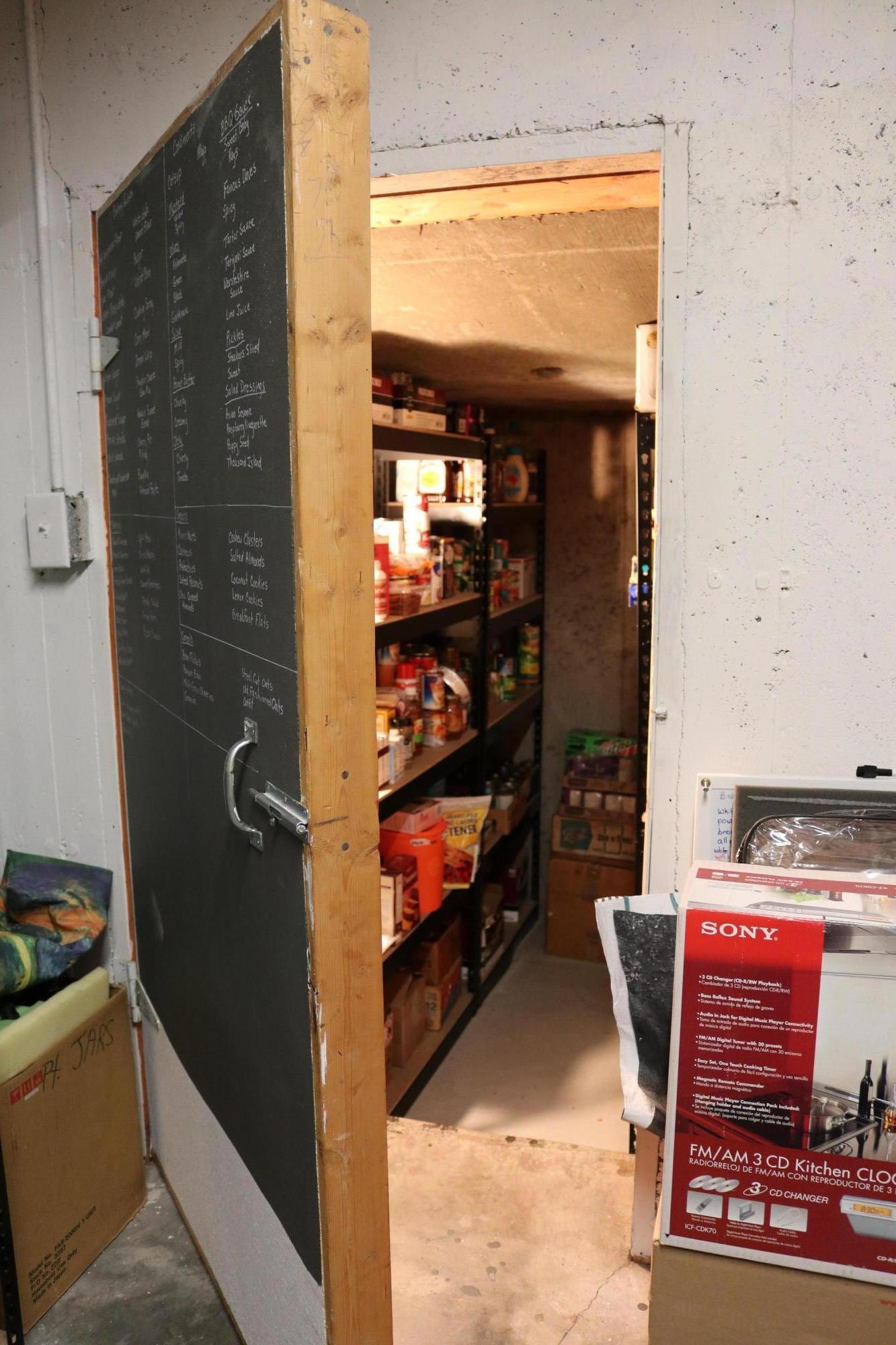053 Downstairs Storage 02 - Food
