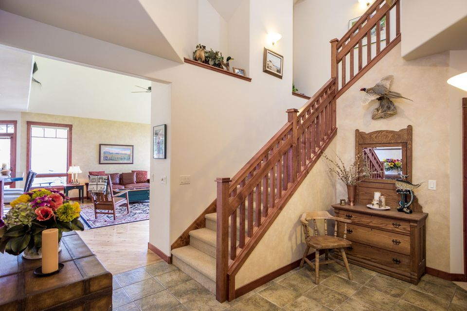 Staircase to Upper Level Master Suite
