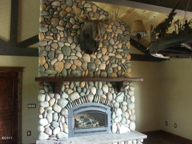 Caretaker - Liv. Rm Fireplace