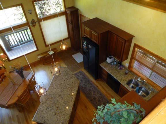 Loft looking into kitchen