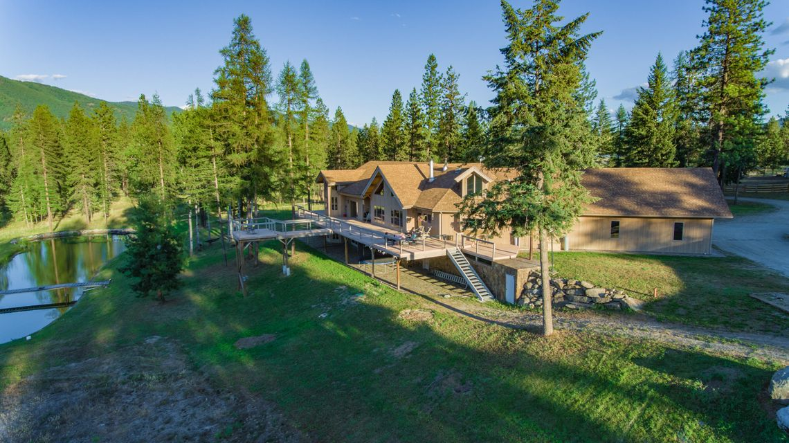 Trout Creek home on 80ac.