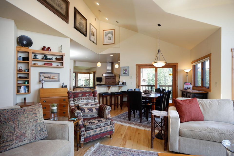 Great Room to Dining and Kitchen