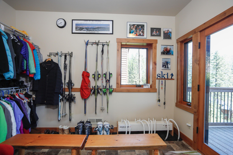 Ski Room for Ski-in/Ski-out