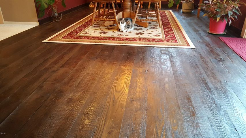 fir rough sawn floors