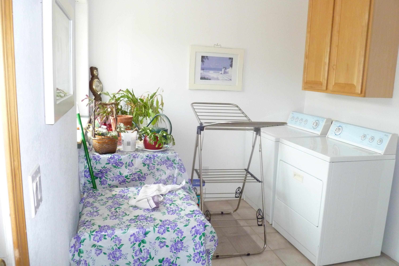 laundry room near kitchen